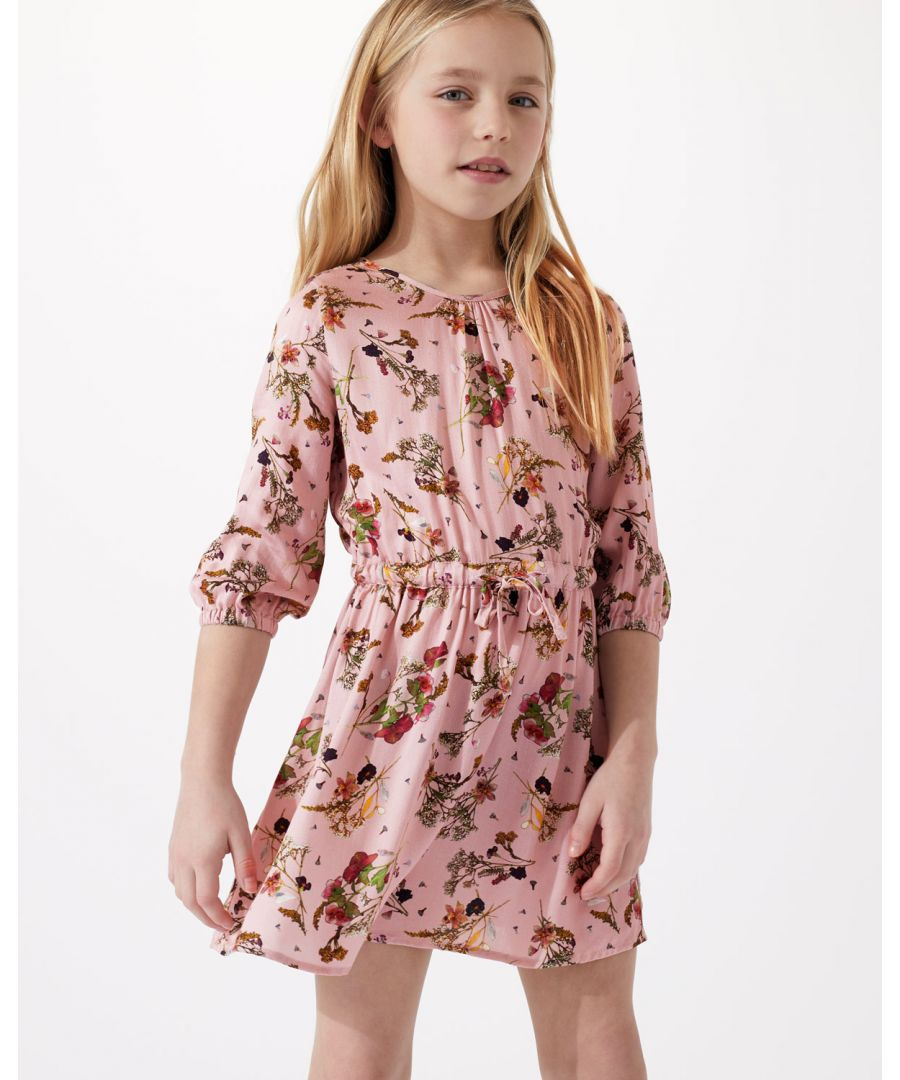 Image for Pressed Flower Print Dress