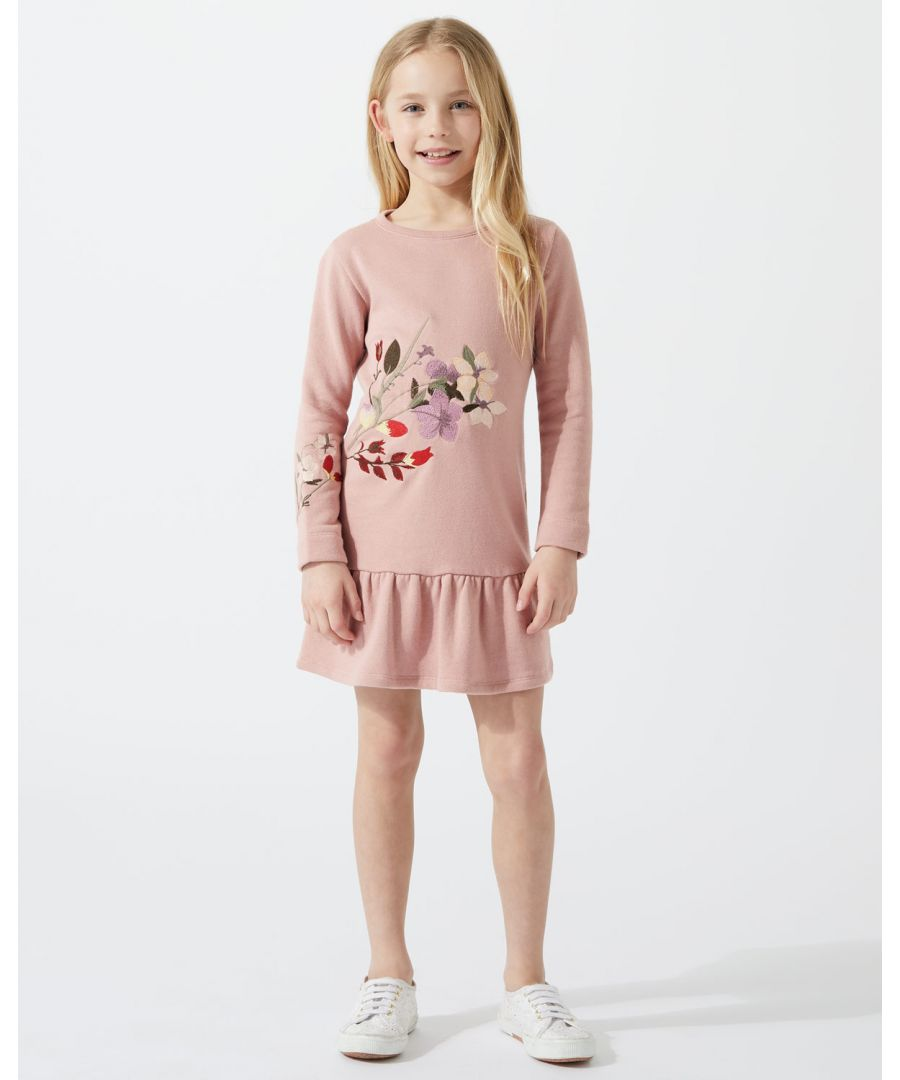 Image for Embroidered Sweater Dress
