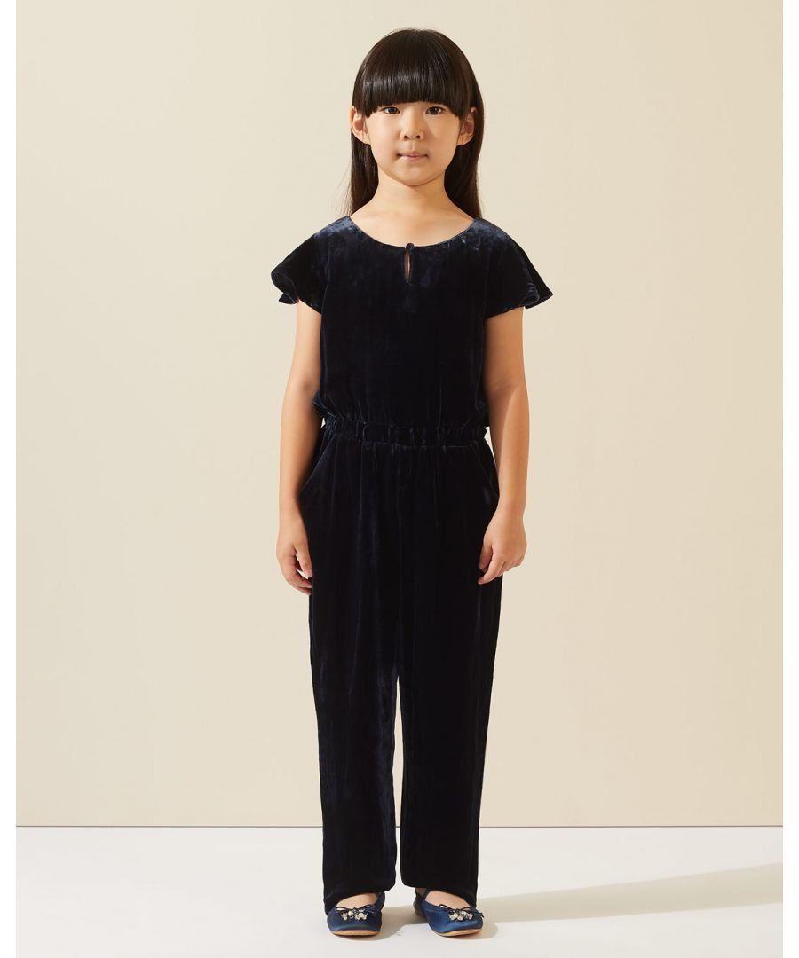 Image for Silk Velvet Blend Jumpsuit