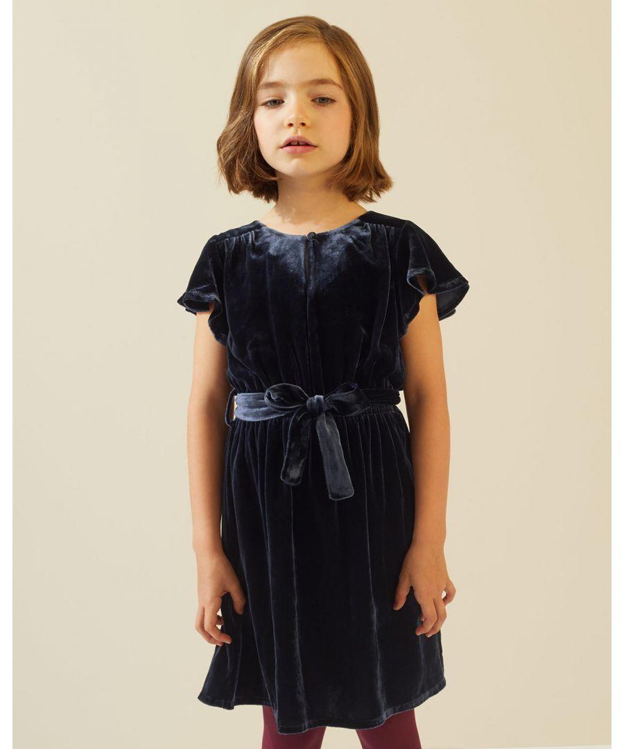 Image for Silk Velvet Blend Dress