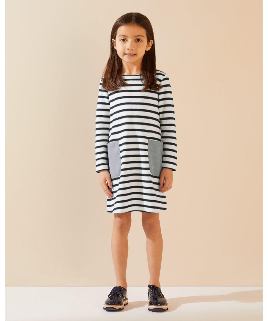 Image for Breton Pocket Dress