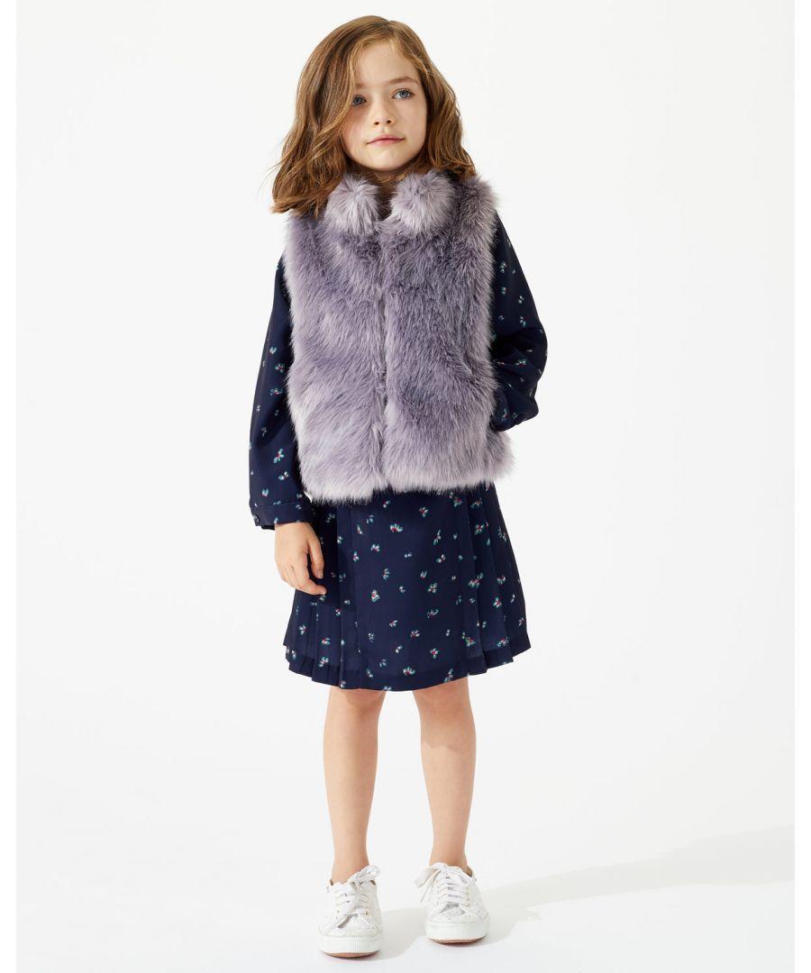 Image for Premium Fluffy Faux Fur Gilet