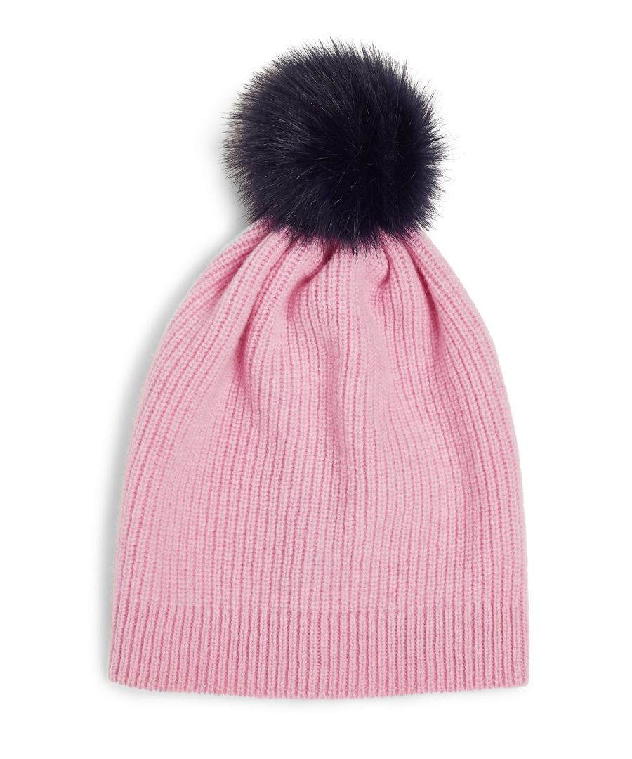 Image for Faux Fur Pom Hat