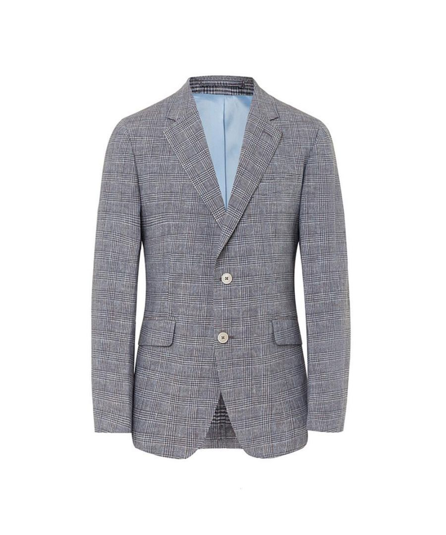 Image for Men's Hackett, Texture Knit Jacket in Grey
