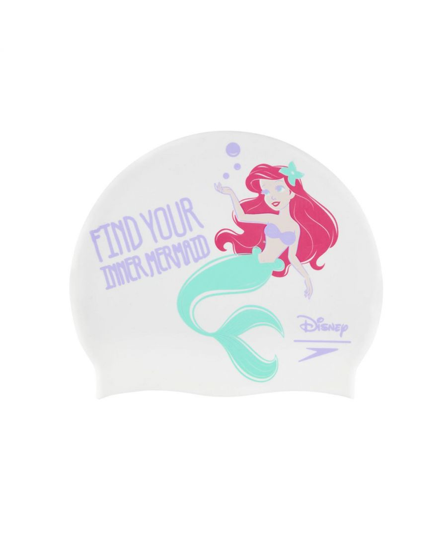 Image for Speedo Disney Little Mermaid Junior Swim Cap