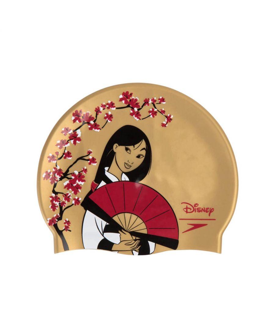 Image for Speedo Disney Mulan Junior Swim Cap