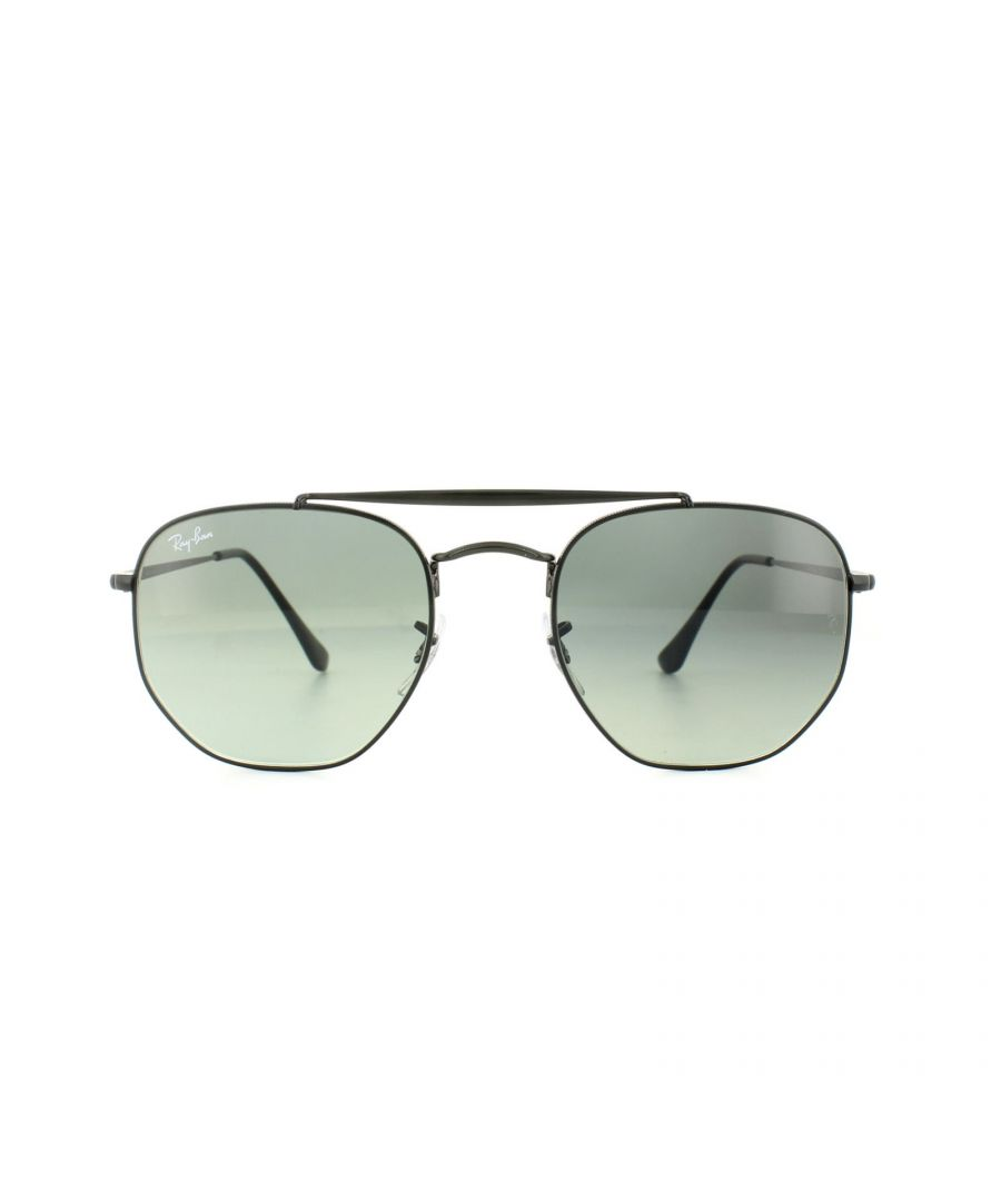 Image for Ray-Ban Sunglasses Marshal 3648 002/71 Black Grey Gradient
