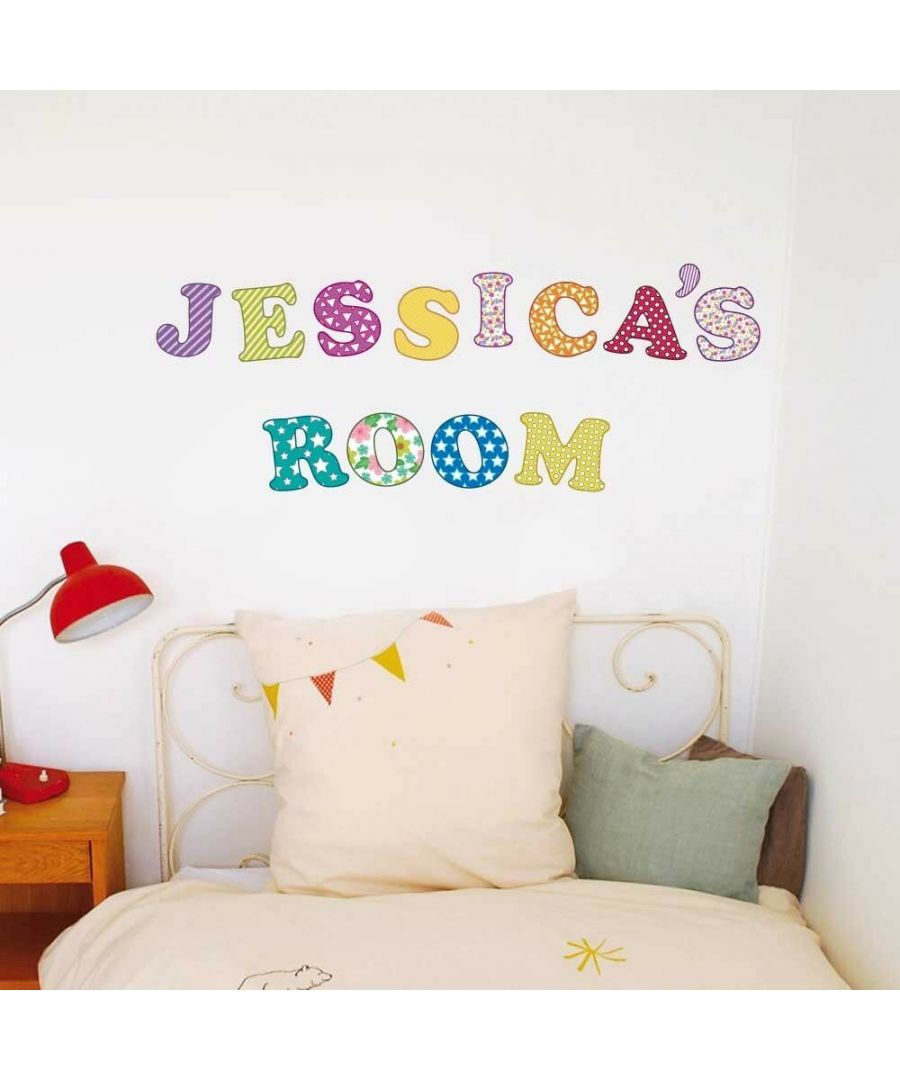 Image for Magic 59 Letters Self Adhesive DIY Wall Stickers Kids Room, nursery, children's room, boy, girl