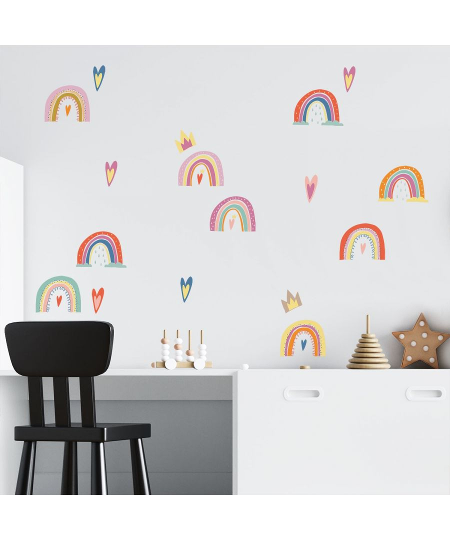 Image for WS3082 - Colourful Hand-drawn Rainbows