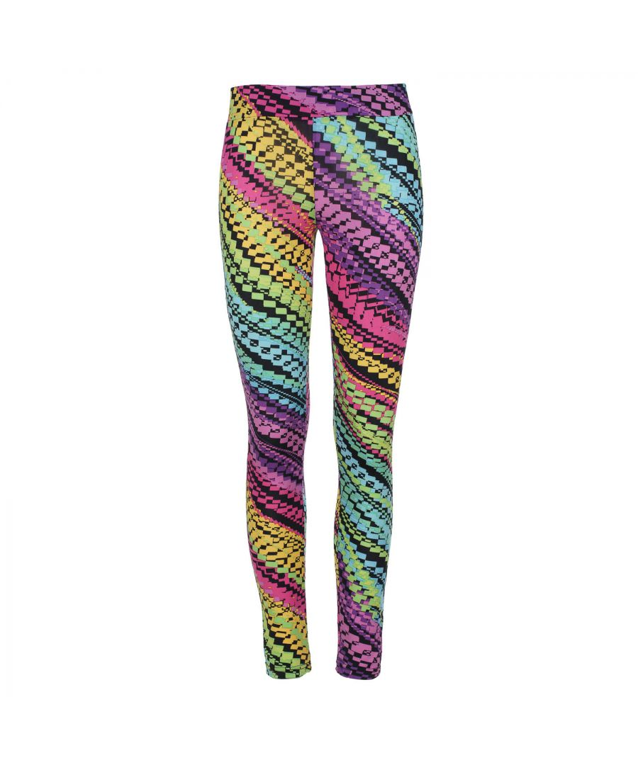Image for Lilac Multi-Coloured Print Leggings