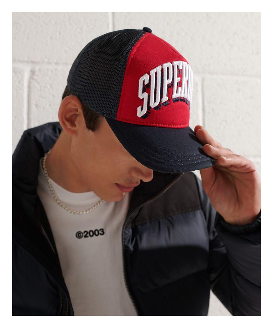 Image for SUPERDRY Sport Tri Logo Trucker Cap