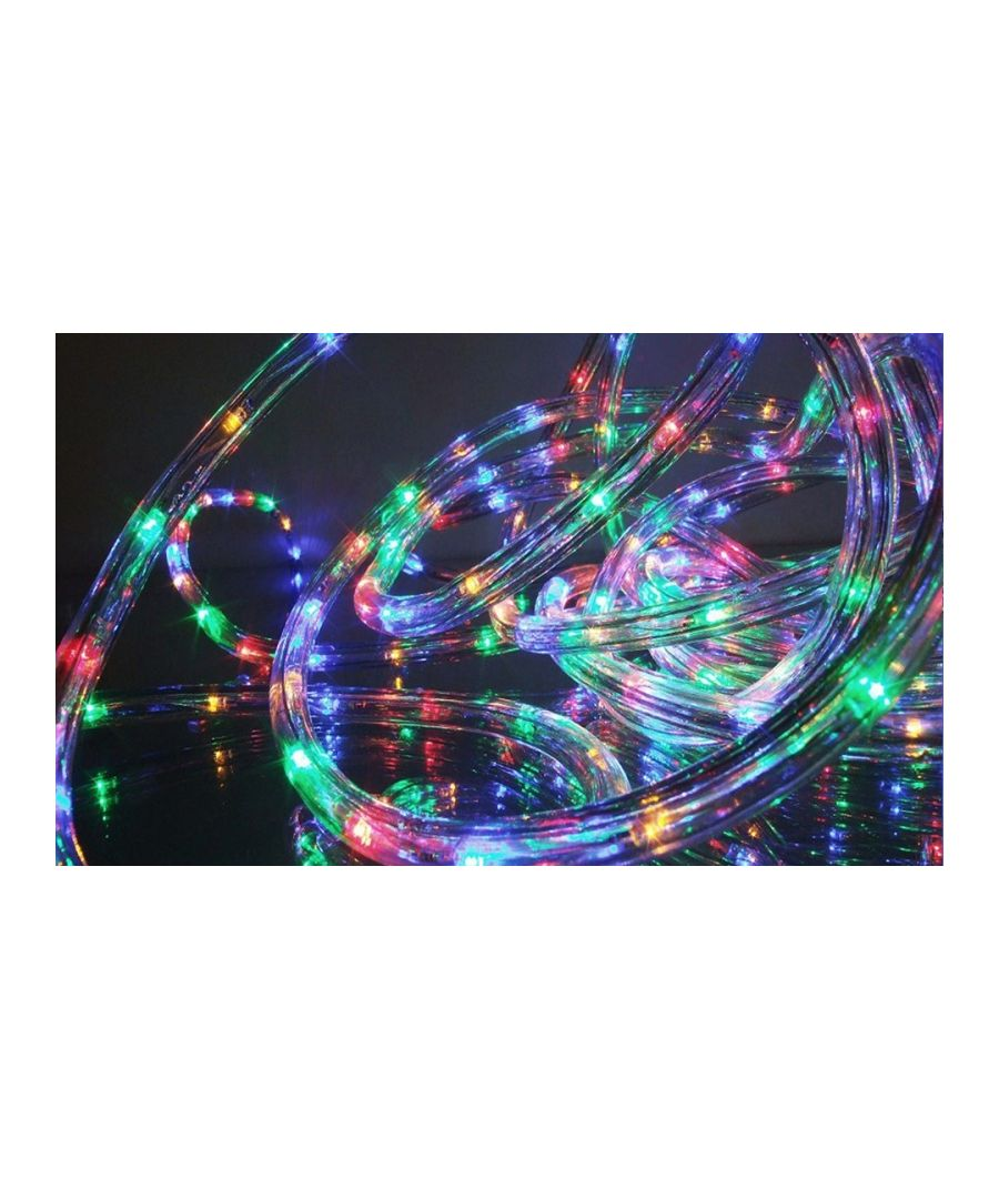 Image for 80 LED Multi Function Rope Lights - Multi Coloured