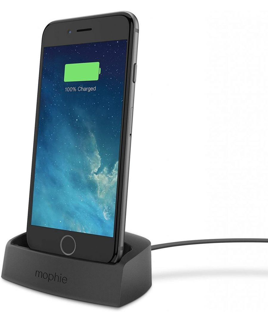 Image for Mophie Desktop Charging Dock Lightning for iPhone 6/5s/5 Black