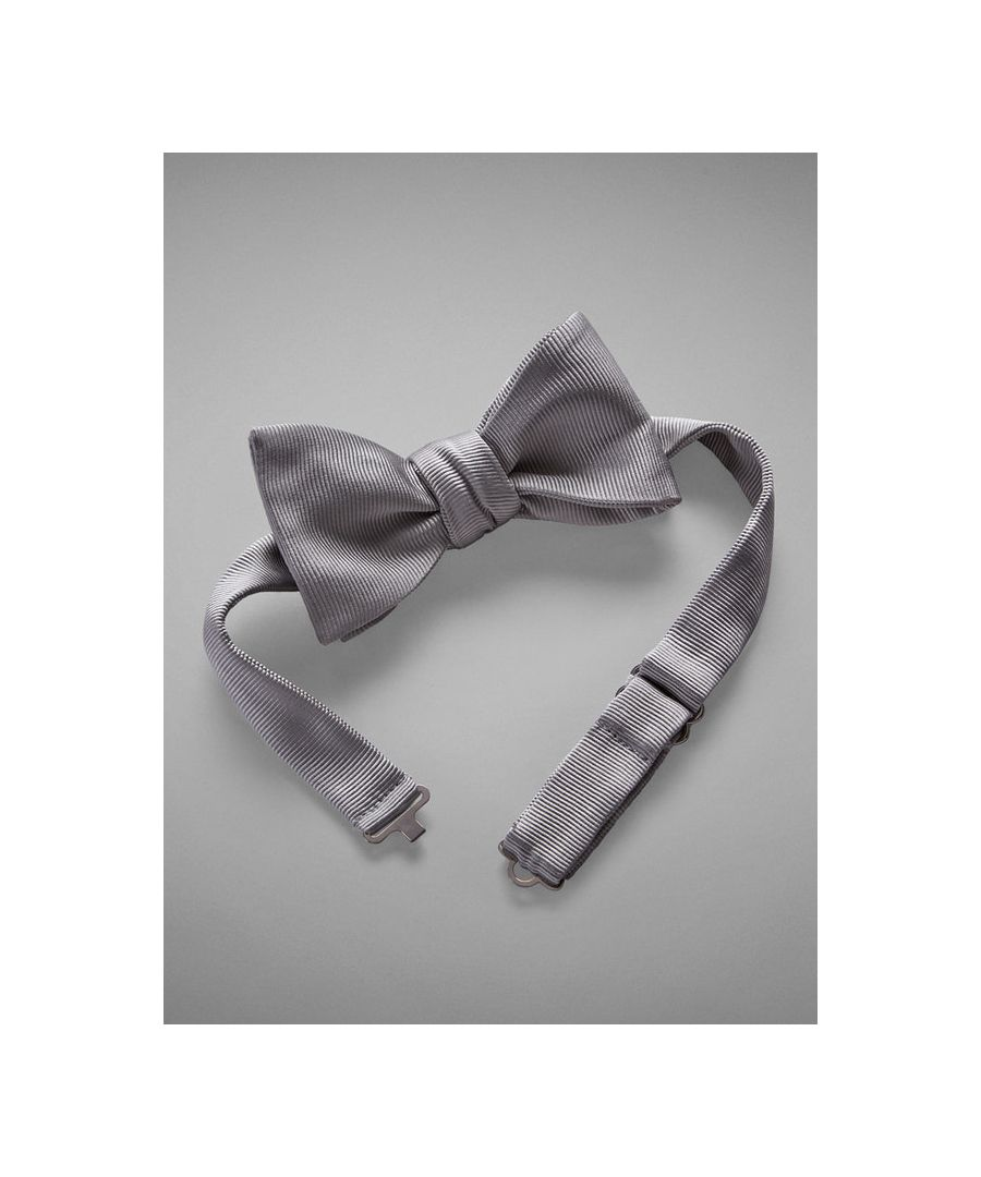 Image for Grosgrain Woven Silk Bow Tie