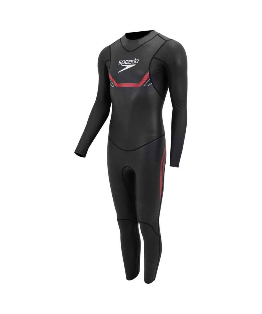 Image for Speedo Proton Thinswim Mens Triathlon Fullsuit Black