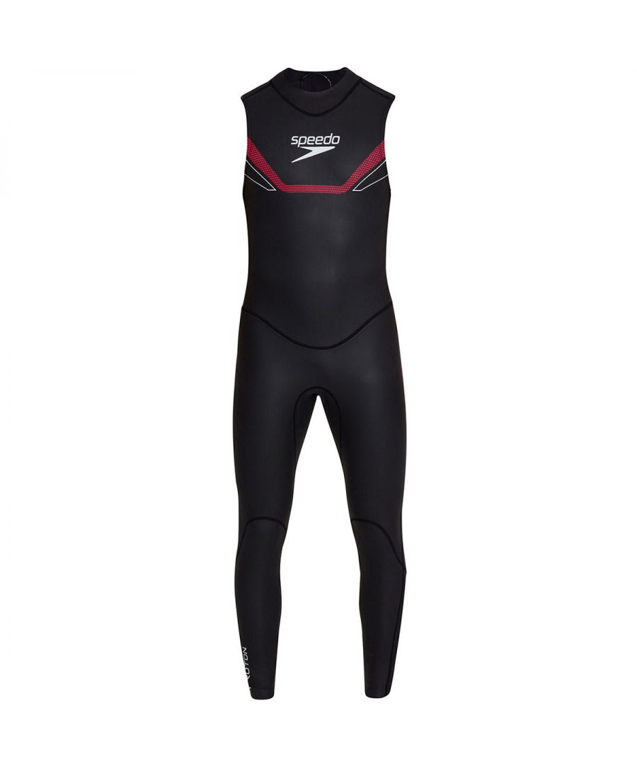 Image for Speedo Proton Thinswim Mens Sleeveless Triathlon Wetsuit Black