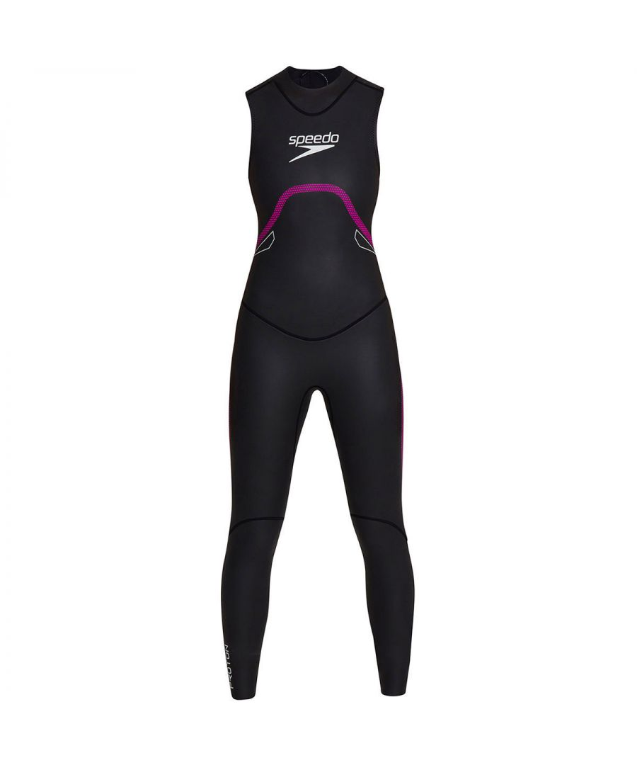 Image for Speedo Proton Thinswim Womens Sleeveless Triathlon Wetsuit Black
