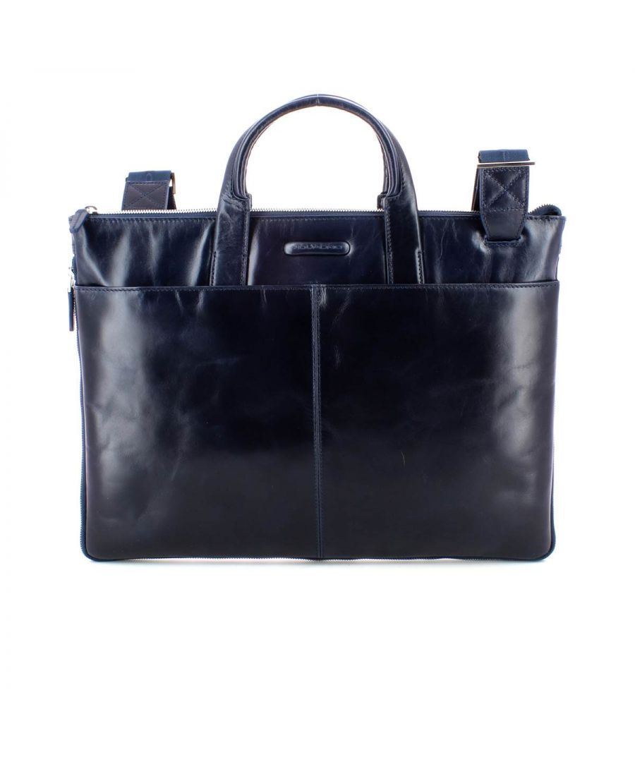 Image for Piquadro, Blue Square Briefcase BLU