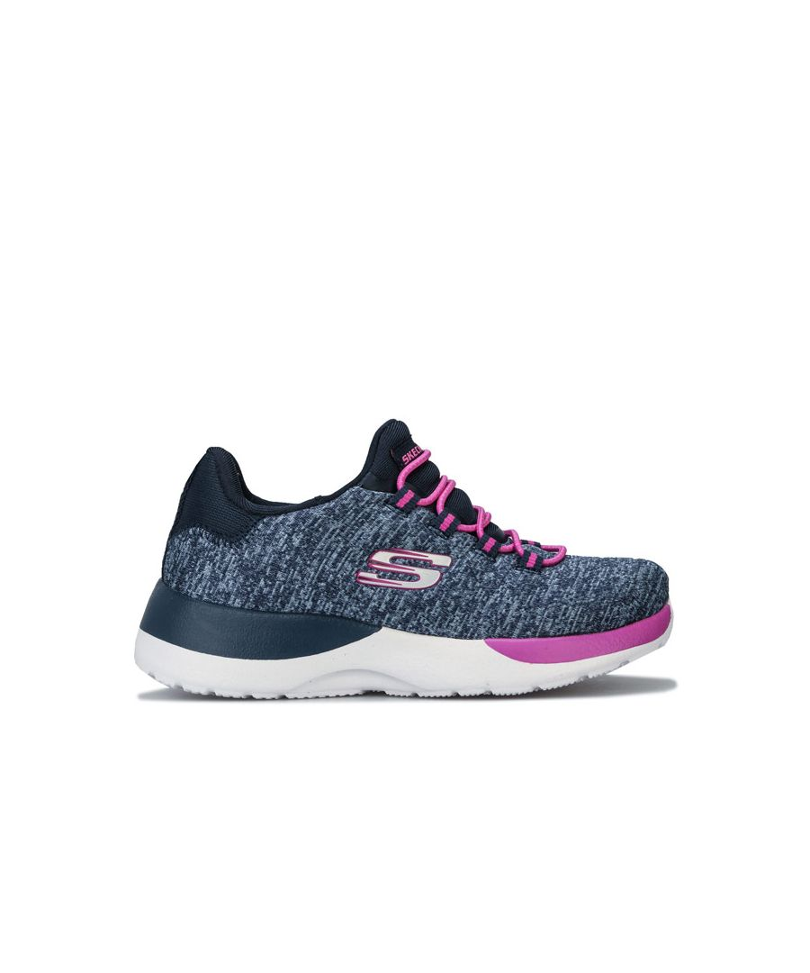 Image for Girl's Skechers Junior Dynamight Break Through Trainer in Navy