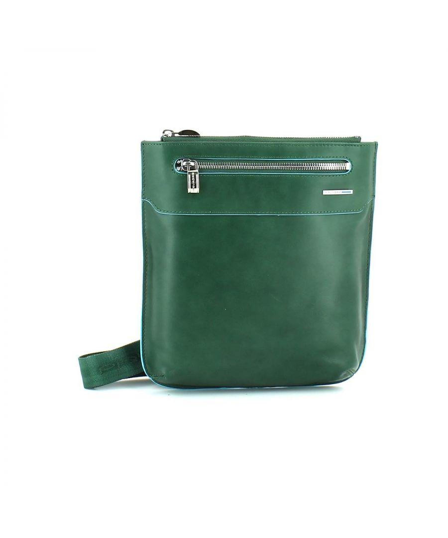 Image for Piquadro, Crossbody Bag Blue Square VERDE