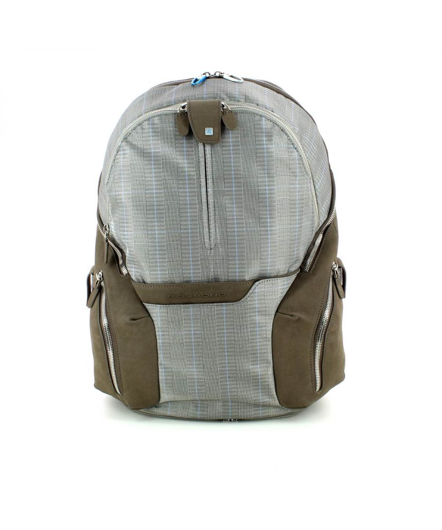 Image for Piquadro, Laptop Backpack OS11 TORTORA