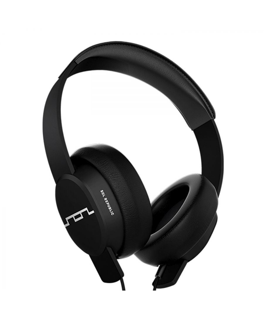 Image for Sol Republic Master Tracks Headphones Black