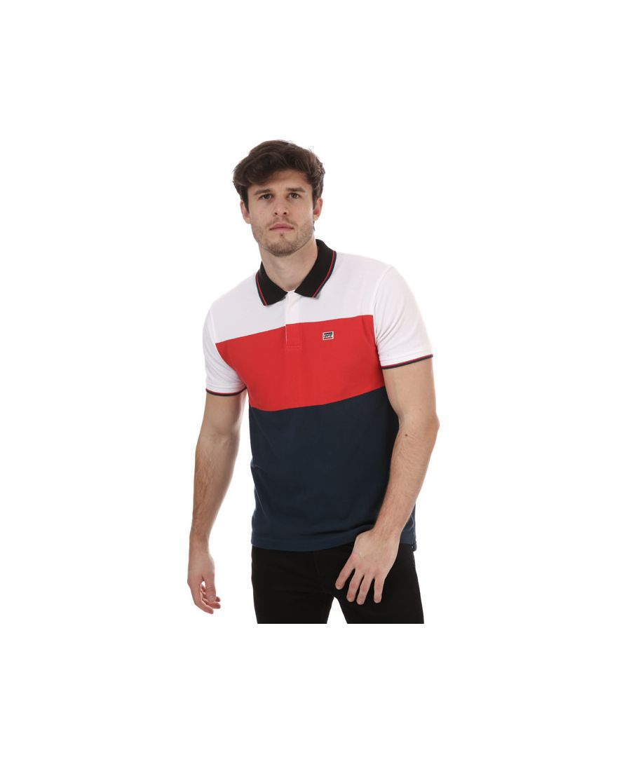 Image for Men's Levis Sportswear Polo Shirt in navy red white