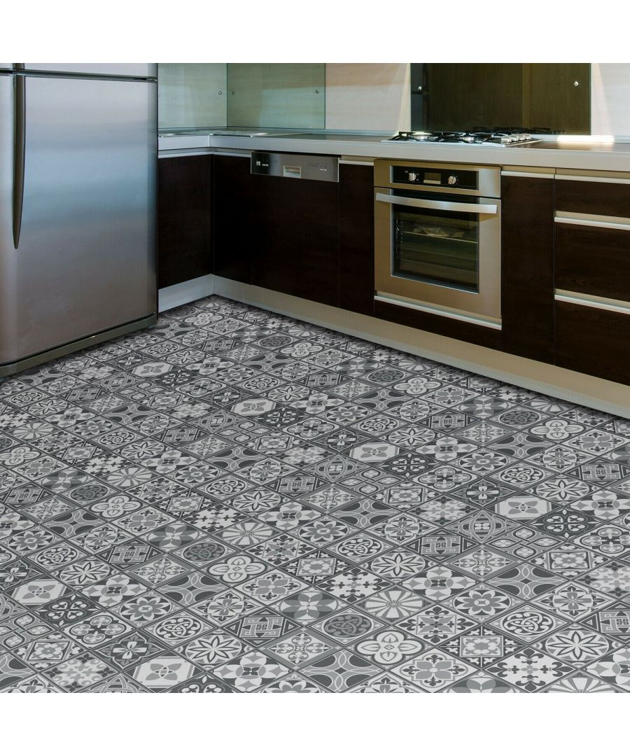 Image for Purbeck Stone Tiles Floor Stickers 120cm x 60 cm, Kitchen, Bathroom, Living room, Self-adhesive