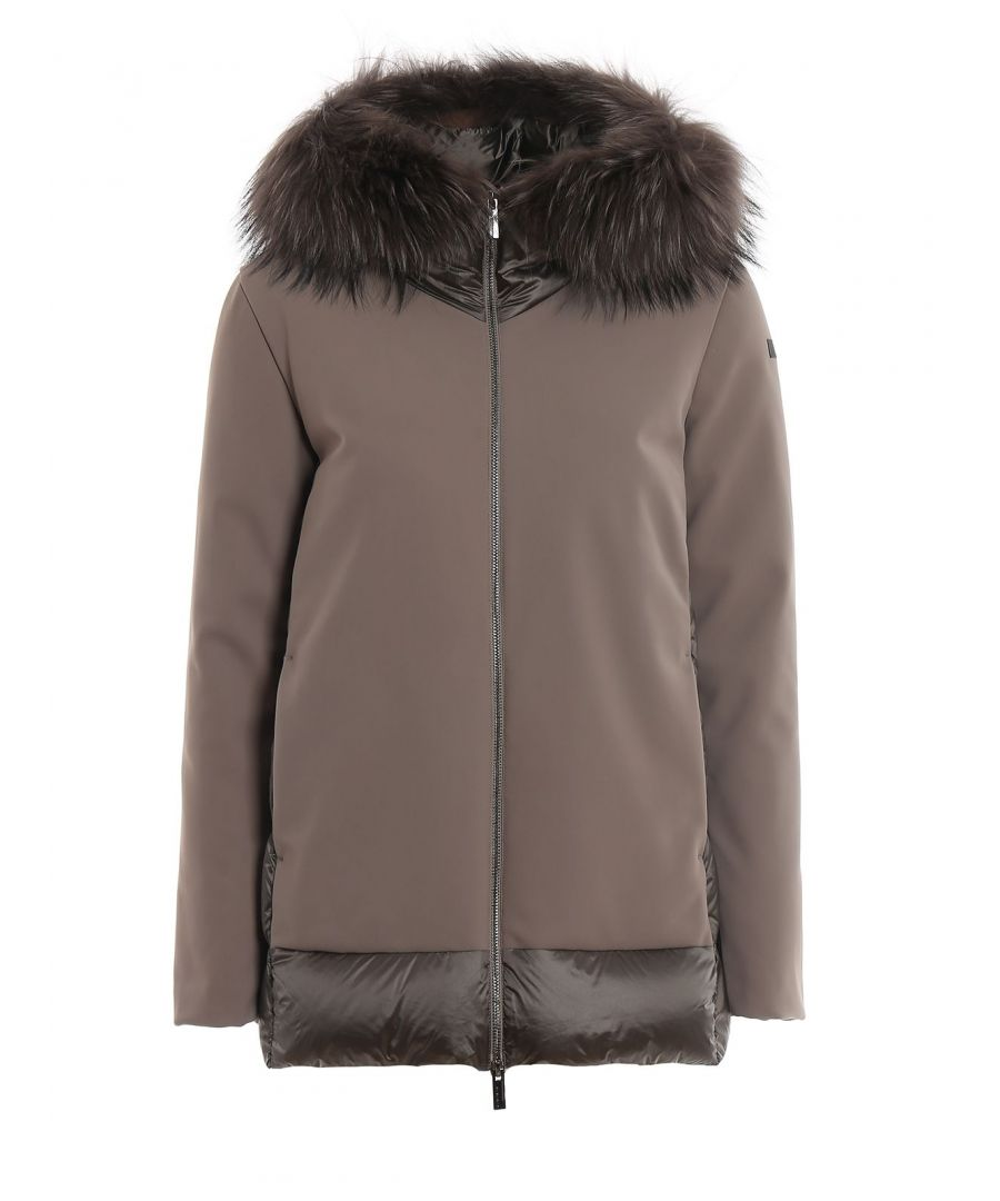 Image for RRD WOMEN'S W19533FT81 GREY POLYESTER DOWN JACKET