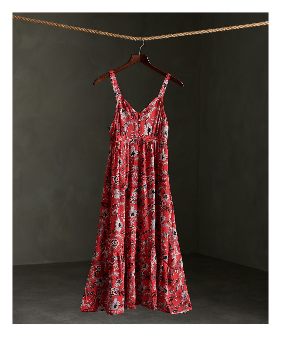 Image for Superdry Daisy Midi Dress