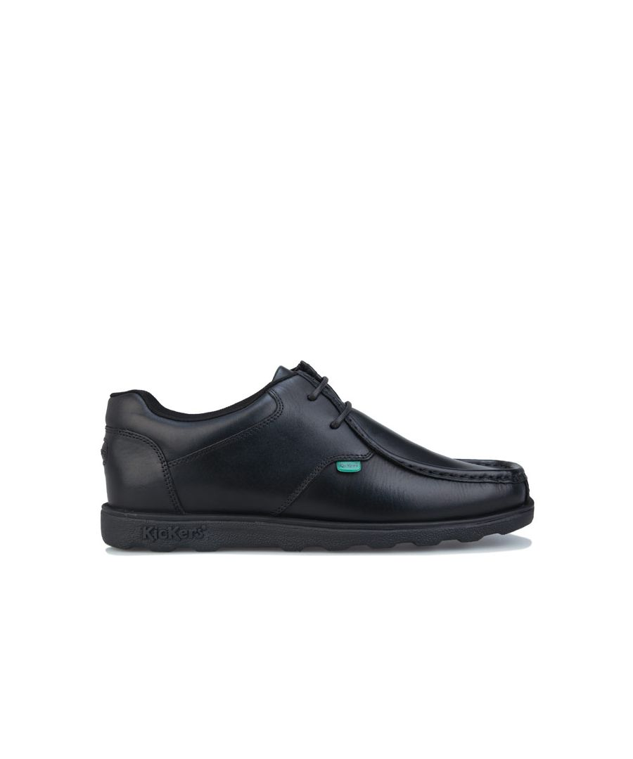Image for Men's Kickers Fragma Lace Shoe in Black
