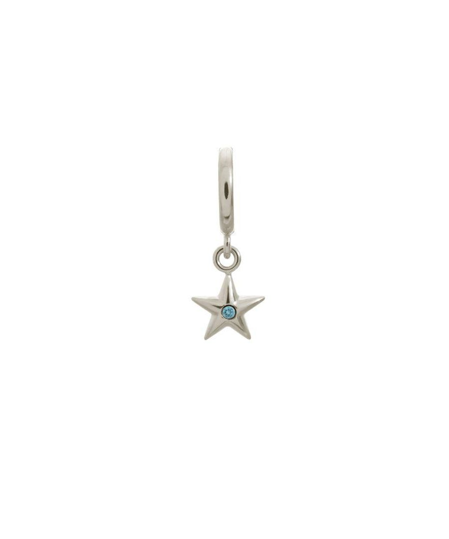 Image for Endless Jewellery Sky Blue Shiny Star Silver Charm