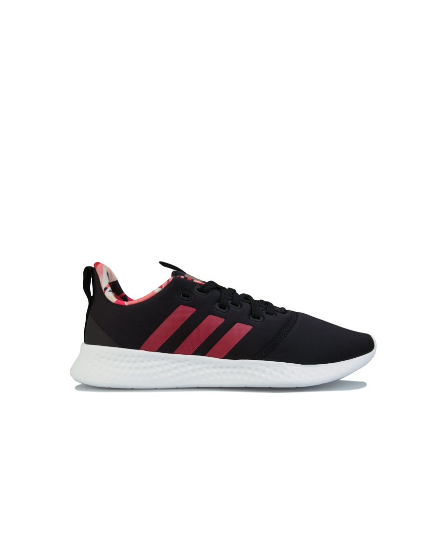 Image for Women's adidas Puremotion Trainers in Black Pink