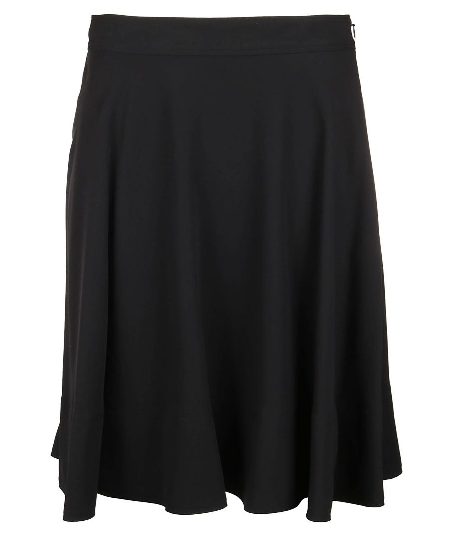 Image for CALVIN KLEIN WOMEN'S K20K201049018 BLACK POLYESTER SKIRT