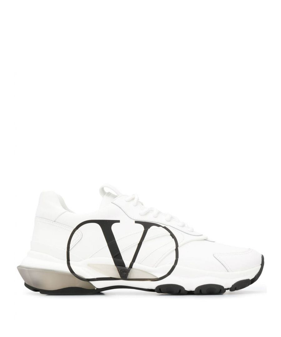 Image for VALENTINO MEN'S SY2S0B05DDS6L0 WHITE LEATHER SNEAKERS