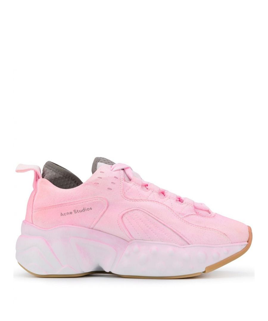 Image for ACNE STUDIOS WOMEN'S AD0209PINK PINK POLYESTER SNEAKERS