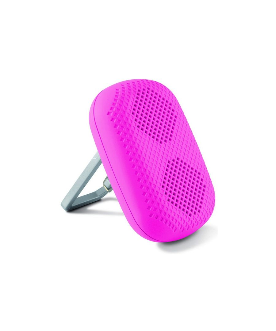 Image for Portable Speaker with Carabiner KSIX 1 5W Pink