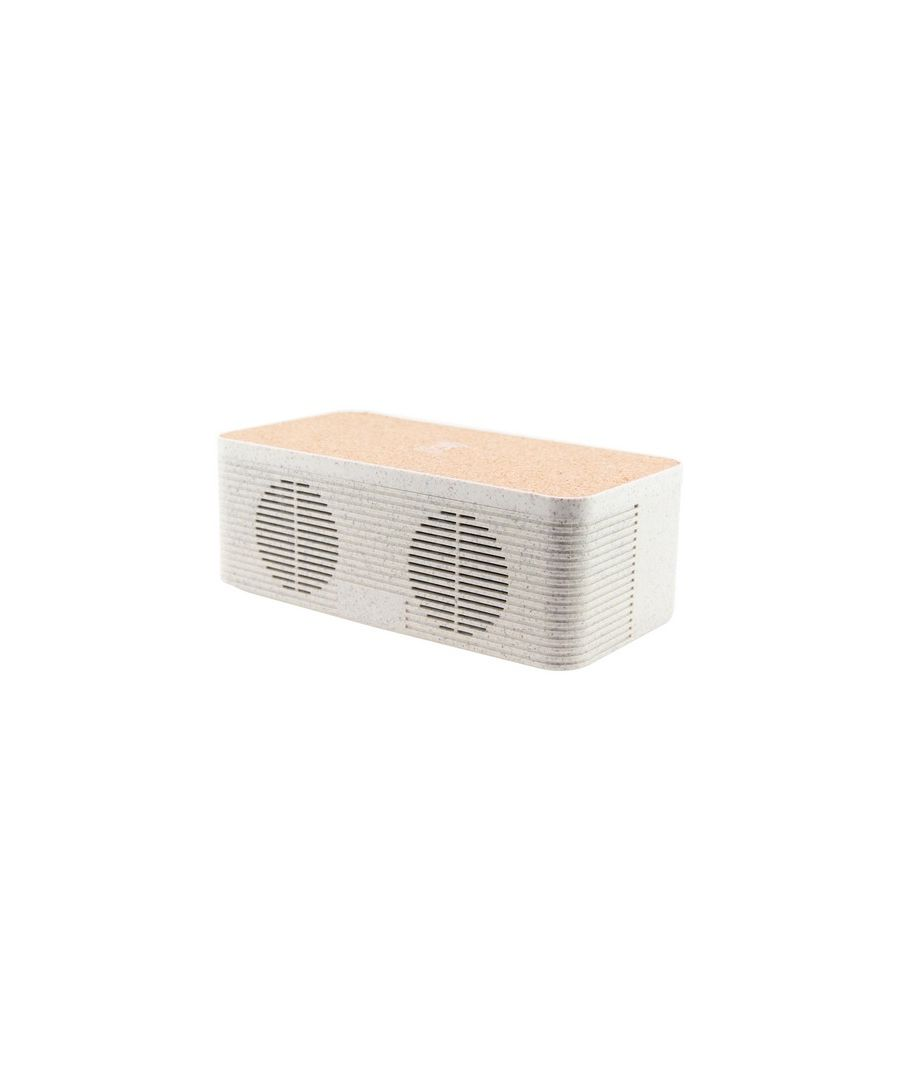 Image for Bluetooth Speaker with Qi Wireless Charger KSIX Eco-Friendly 1200 mAh 5W