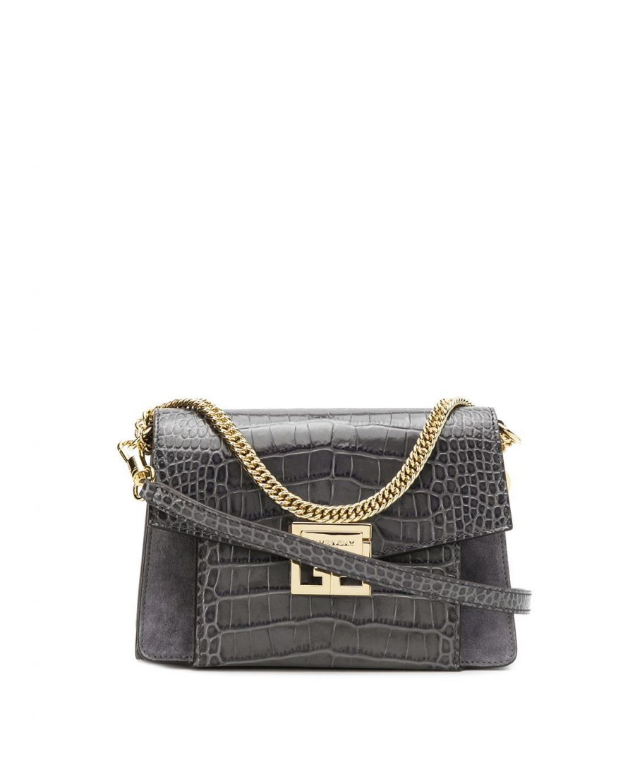 Image for GIVENCHY WOMEN'S BB501CB0LU098 GREY LEATHER SHOULDER BAG