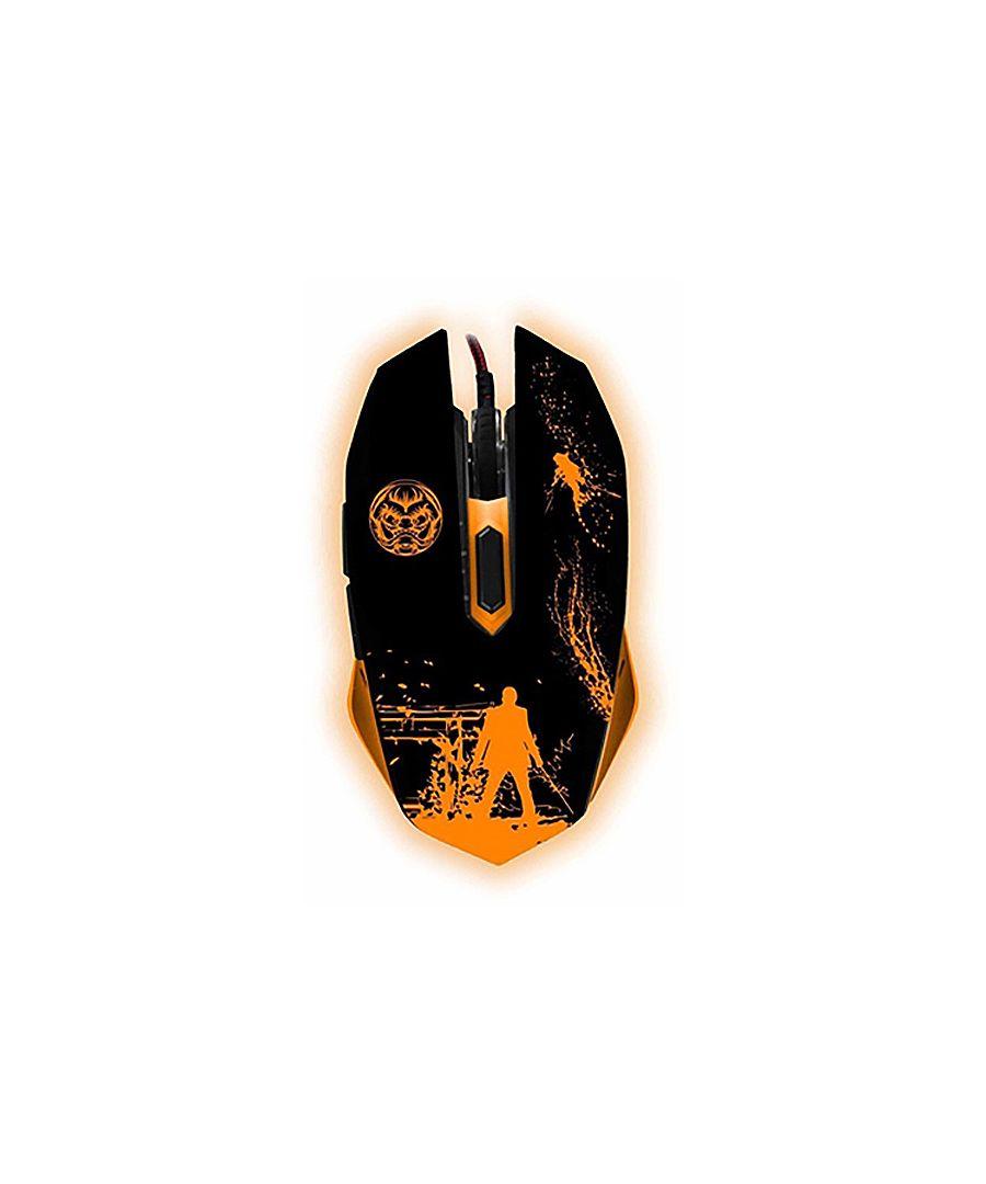 Image for Gaming Mouse iggual IGG315811 LED