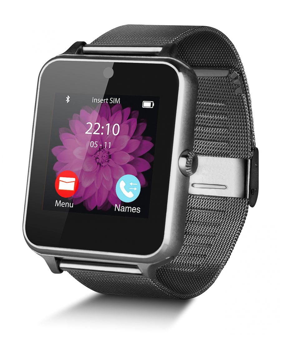Image for Smartwatch Smartek SW-832 Metal Black + 32GB SD