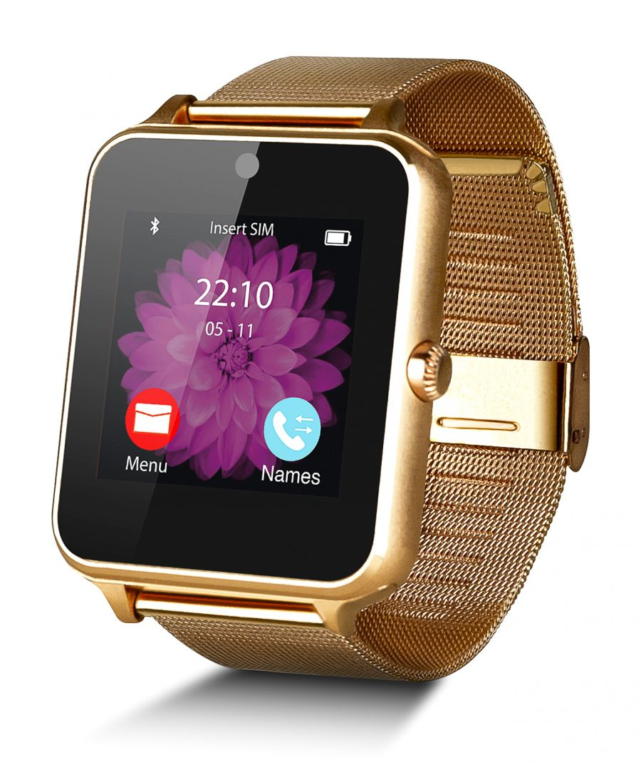 Image for Smartwatch Smartek SW-832 Metal Gold + 32GB SD