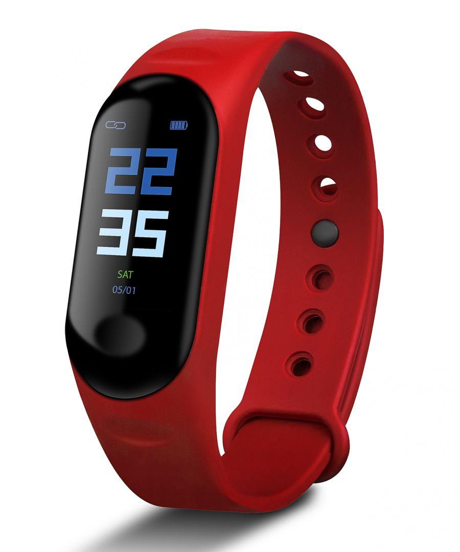 Image for Smartband Smartek HRB-800 Red