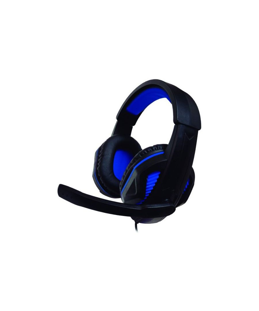 Image for Gaming Headset with Microphone Ps4/xbox Nuwa ST10 Black Blue