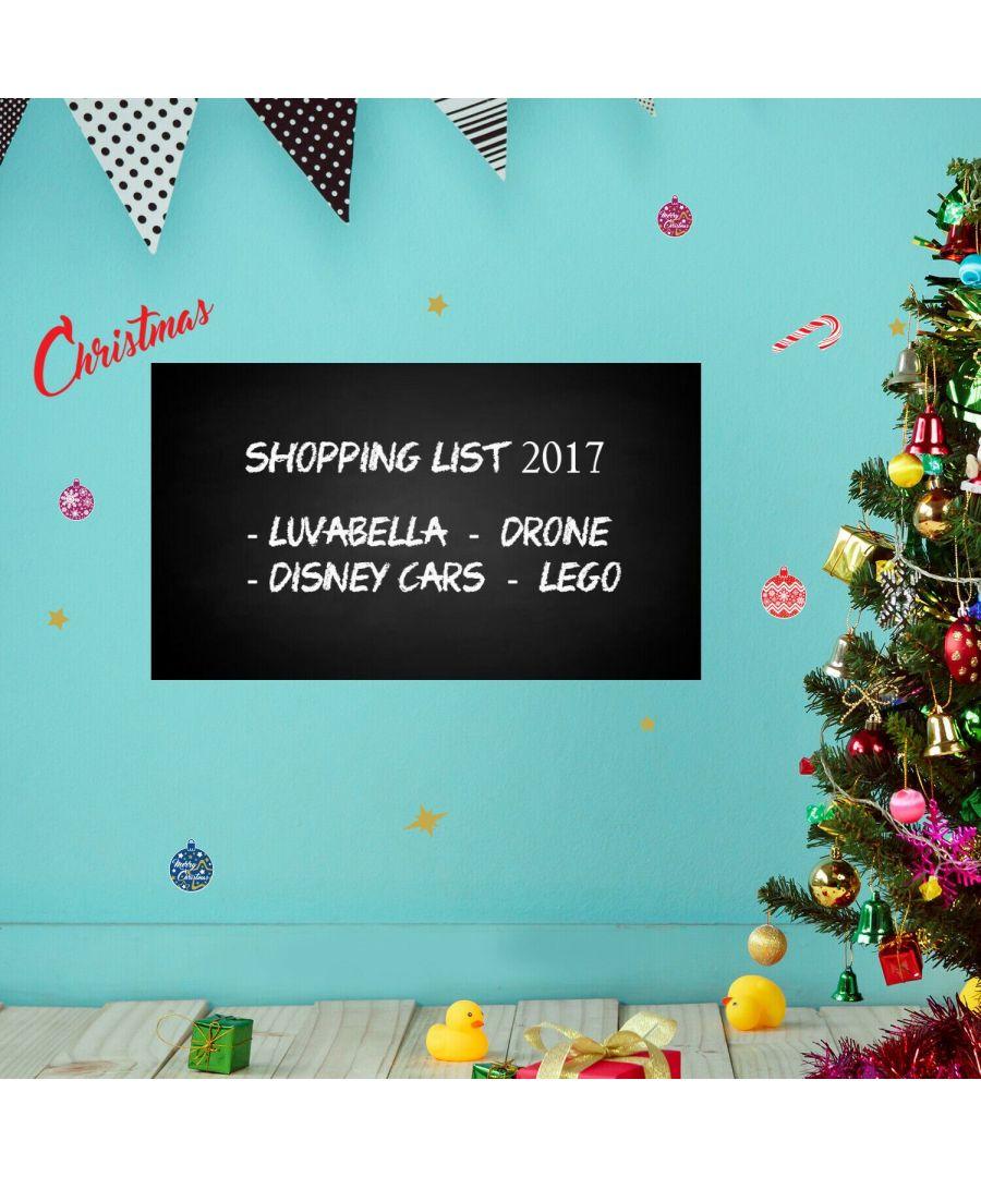 Image for COM- WS1199 - Blackboard 45 x 90 cm + WS3322 - Merry Christmas