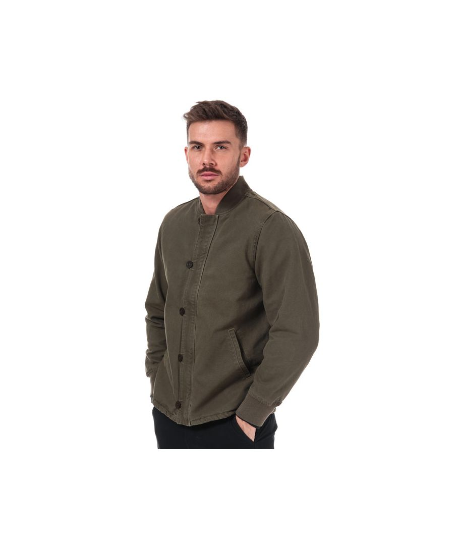 Image for Men's Levis Deck Bomber Jacket in olive