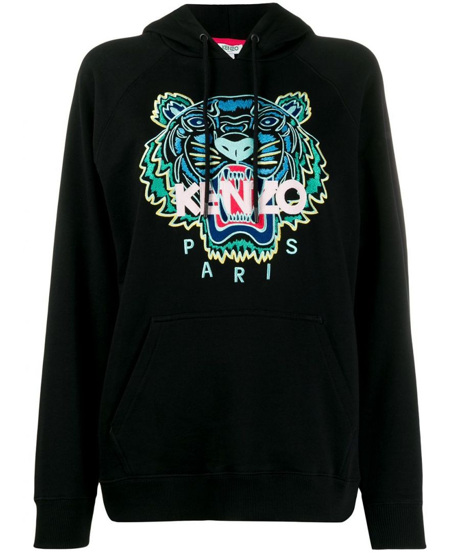 Image for KENZO WOMEN'S FA52SW8834XA99 BLACK COTTON SWEATSHIRT