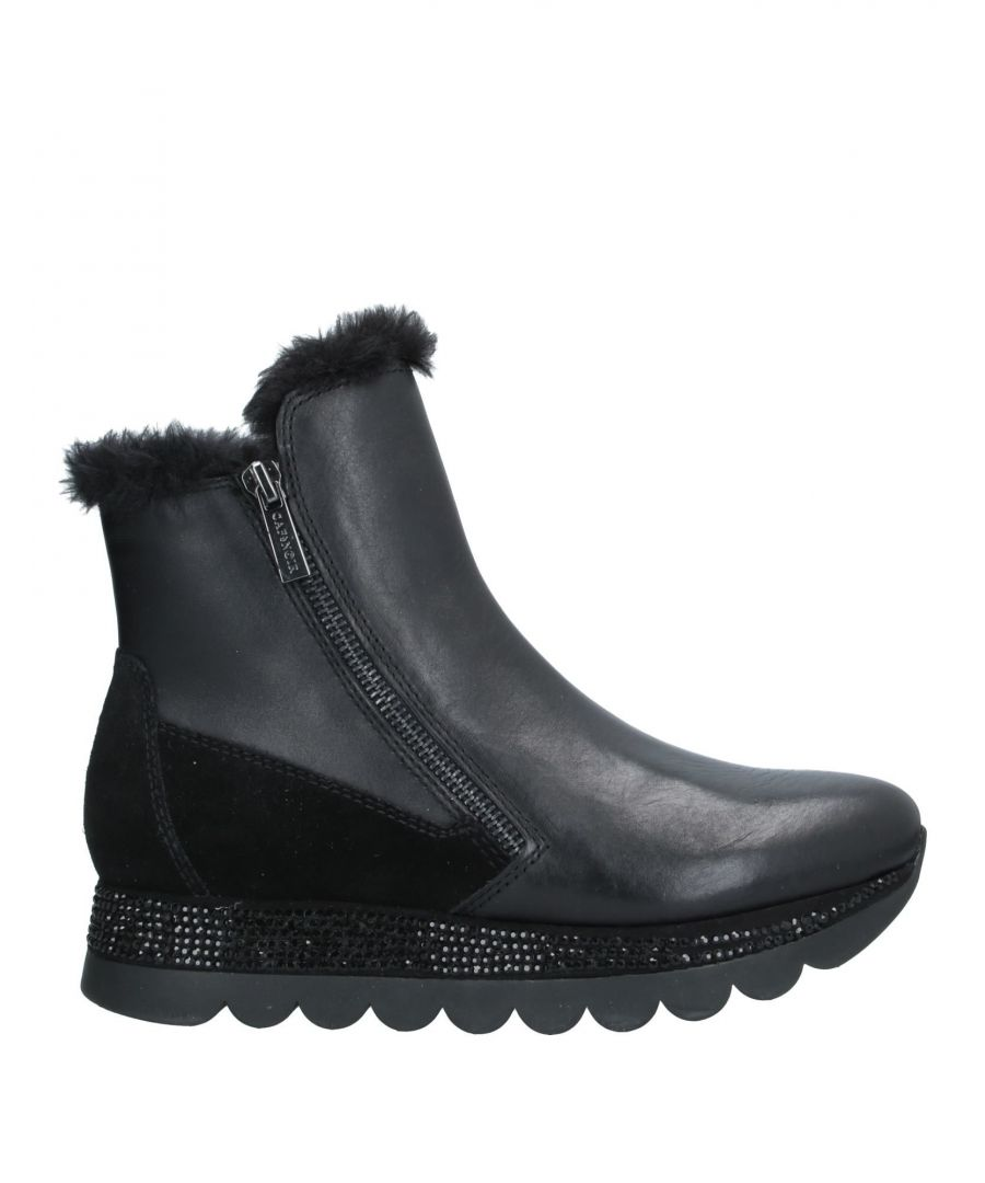 Image for Cafènoir Women's Leather Ankle Boots