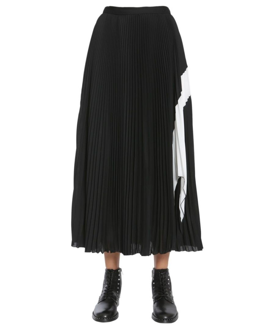 Image for PROENZA SCHOULER WOMEN'S R174518BYL8310201 BLACK POLYESTER SKIRT