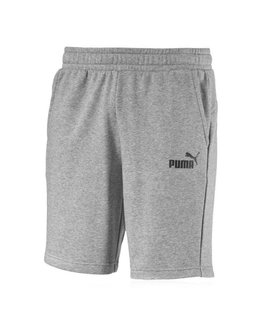 Image for Puma Essentials Mens Sweat Short Grey - S
